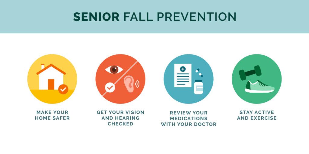 Senior fall prevention tips