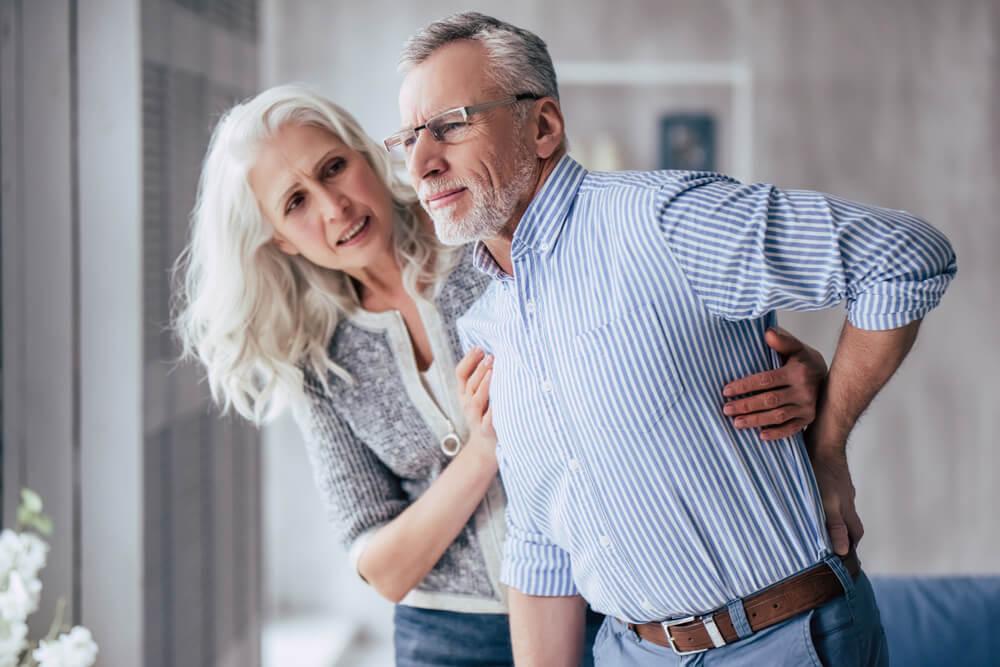 back pain elderly