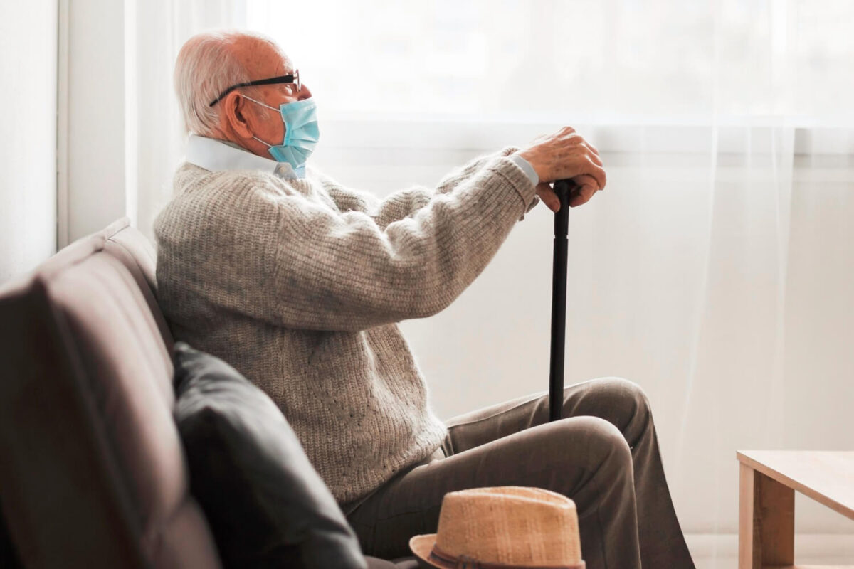 Mask Wearing Easy, Safe Especially For Elders